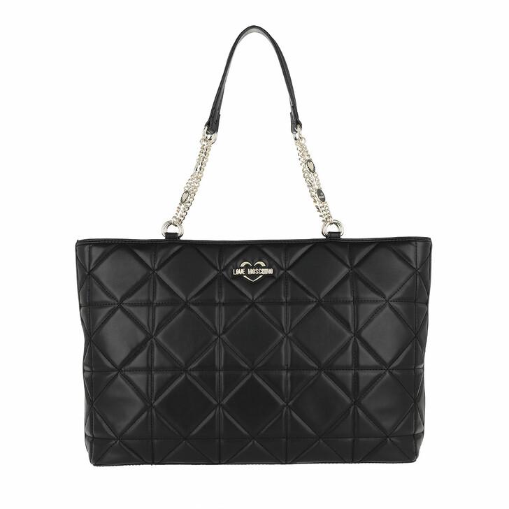 Handtasche, Love Moschino, Bag Nero