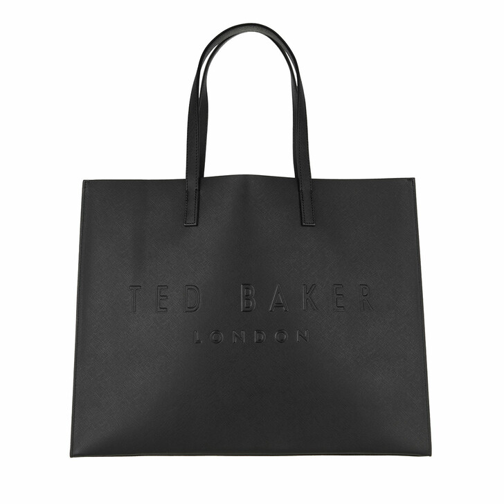 Handtasche, Ted Baker, Sukicon Crosshatch East West Icon Bag Black