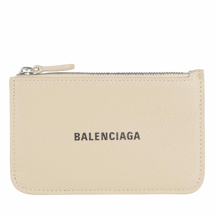 Geldbörse, Balenciaga, Neo Classic Card Holder Light Beige