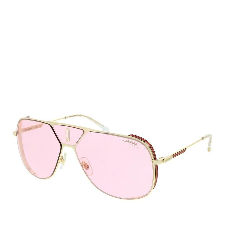Sonnenbrille, Carrera, CARRERA LENS3S Gold Pink