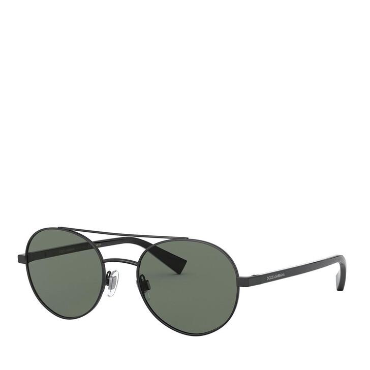 Sonnenbrille, Dolce&Gabbana, 0DG2245 Matte Black