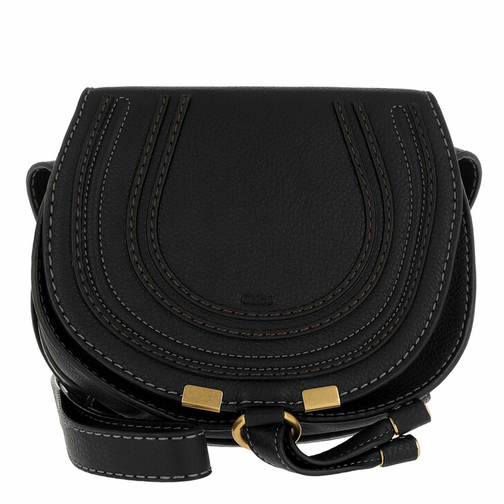 Handtasche, Chloé, Marcie Crossbody Small Black