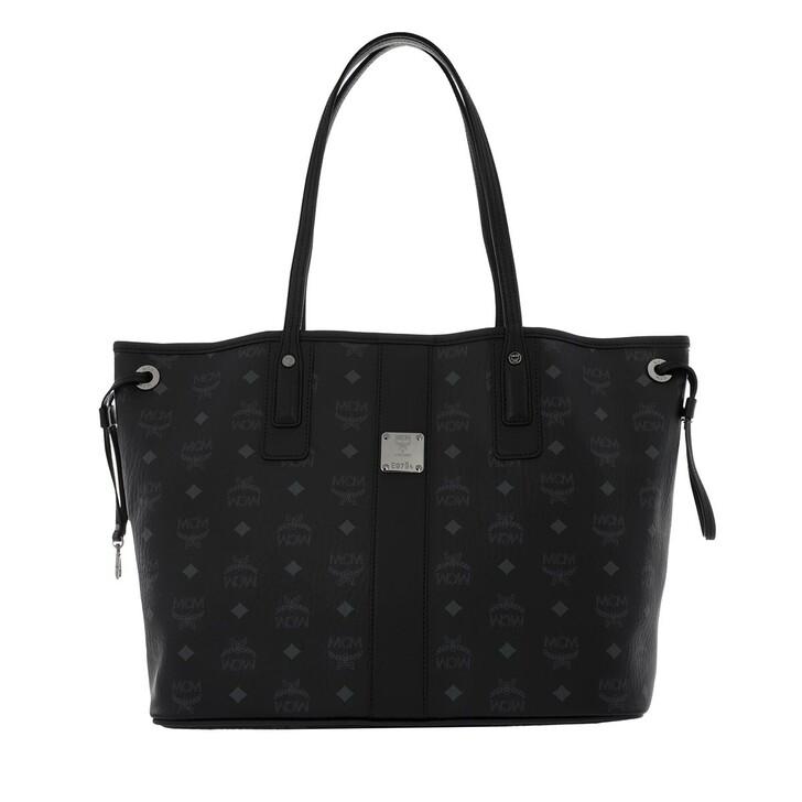 bags, MCM, Liz Shopper Medium  Black