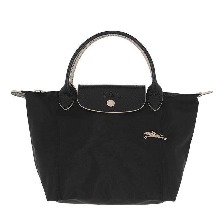 bags, Longchamp, Le Pliage Club Handbag  Black