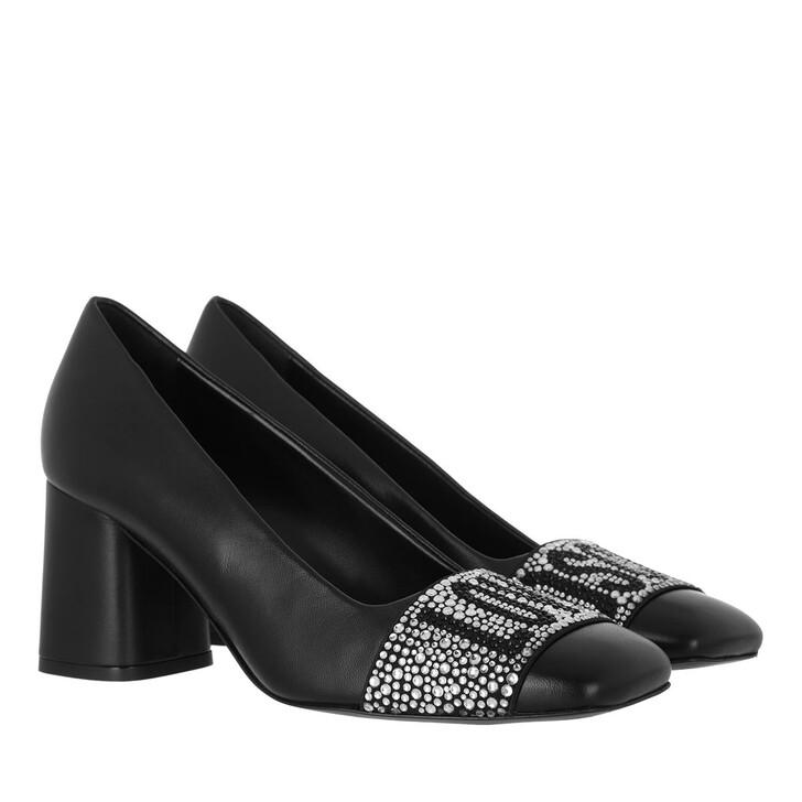 shoes, Love Moschino, Scarpad Grosso75 Nappa  Nero