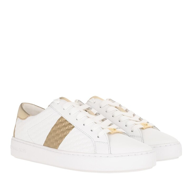 Schuh, MICHAEL Michael Kors, Colby Sneakers Optic White Pale Gold