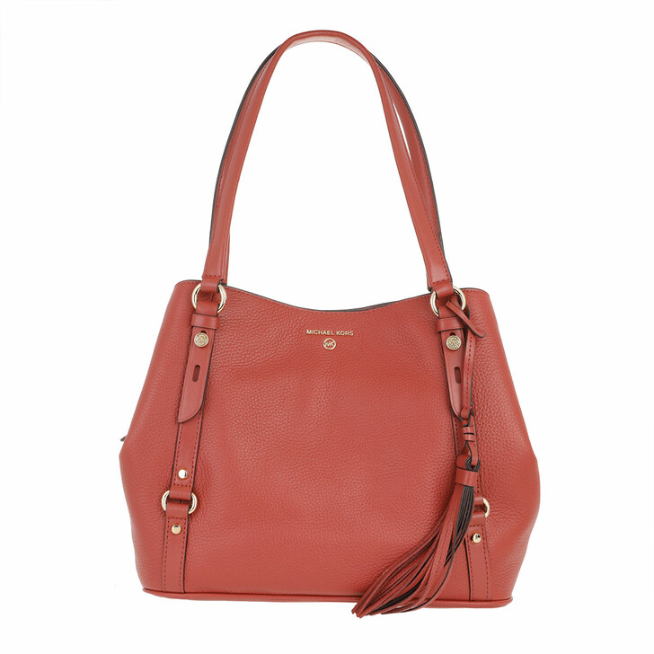 Handtasche, MICHAEL Michael Kors, Carrie Large Shoulder Tote Bag Terracotta