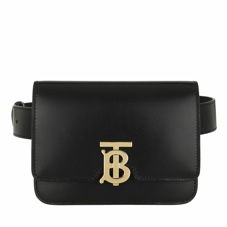 Gürteltasche, Burberry, TB Bum Bag Leather Black