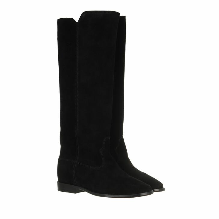 shoes, Isabel Marant Étoile, Crisi Flat Boots Black