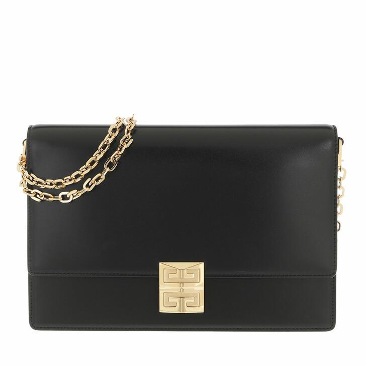 bags, Givenchy, 4G Medium Crossbody Bag Black