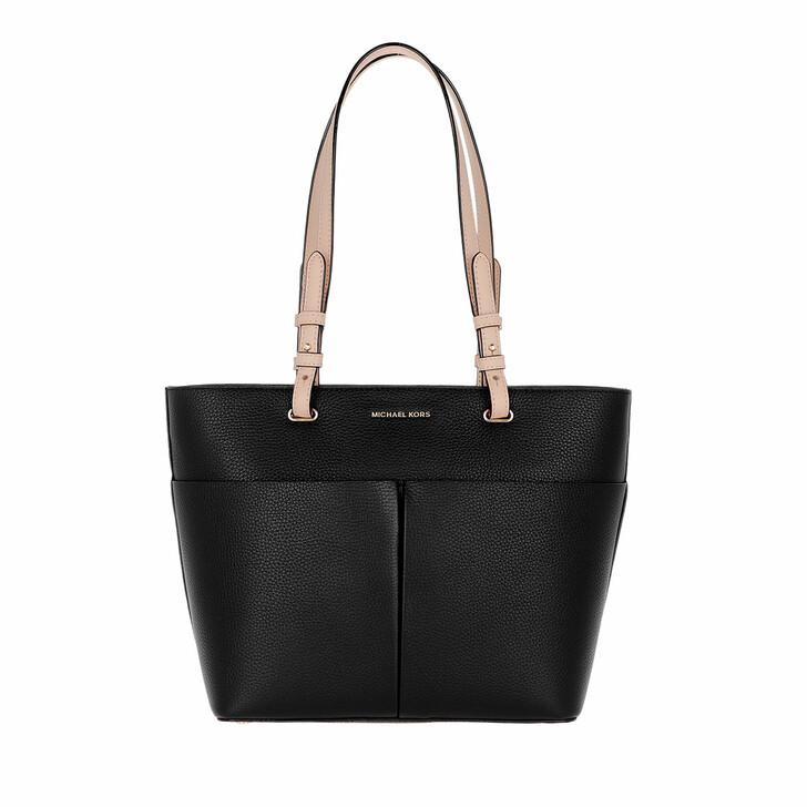 Handtasche, MICHAEL Michael Kors, Bedford Medium Pocket Tote Bag Black