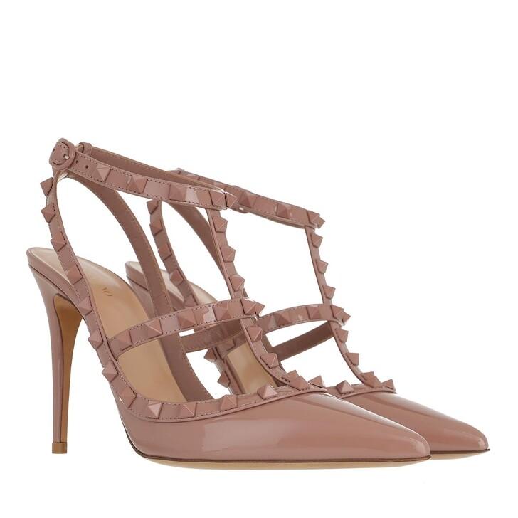 Schuh, Valentino Garavani, Ankle Strap Pumps Poudre