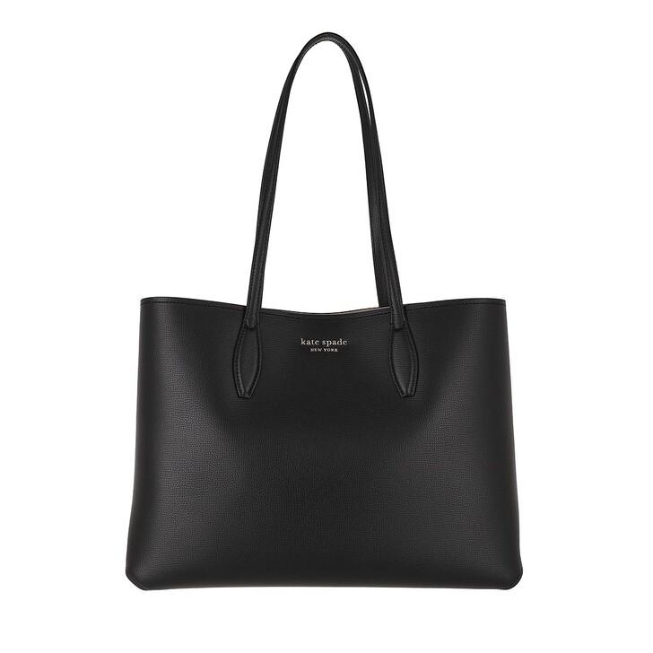 bags, Kate Spade New York, Large Tote Black/Black