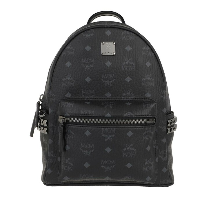 Reisetasche, MCM, Stark Backpack Small   Black
