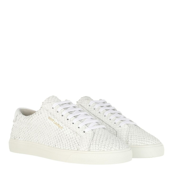 Schuh, Saint Laurent, Andy Sneakers Nubuk Leather White