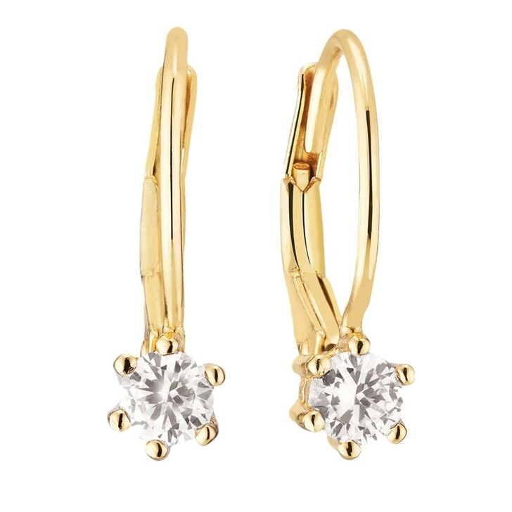 earrings, Sif Jakobs Jewellery, Rimini Earrings 18 Carat Yellow Gold