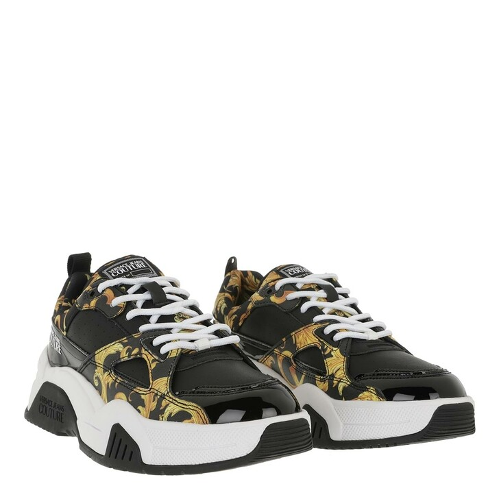 Schuh, Versace Jeans Couture, Linea Fondo Fire 1 Sneaker Black Gold