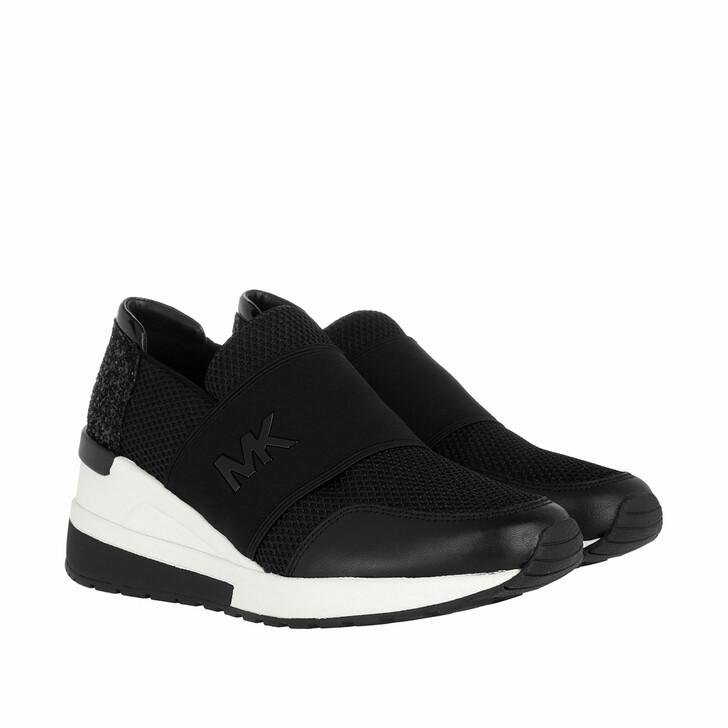 Schuh, MICHAEL Michael Kors, Felix Trainer Mesh Sneaker Black