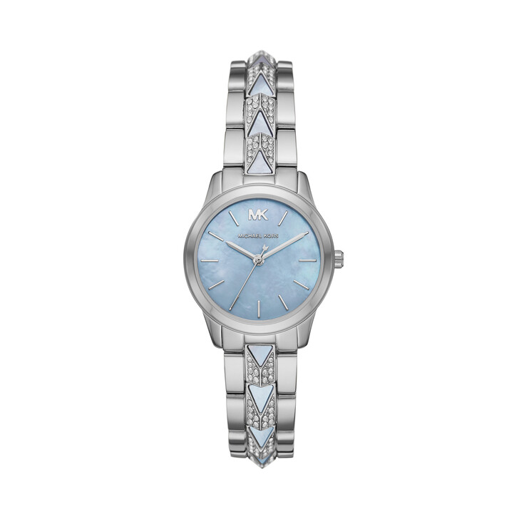 Uhr, Michael Kors, Runway Mercer Watch Blue/Silver