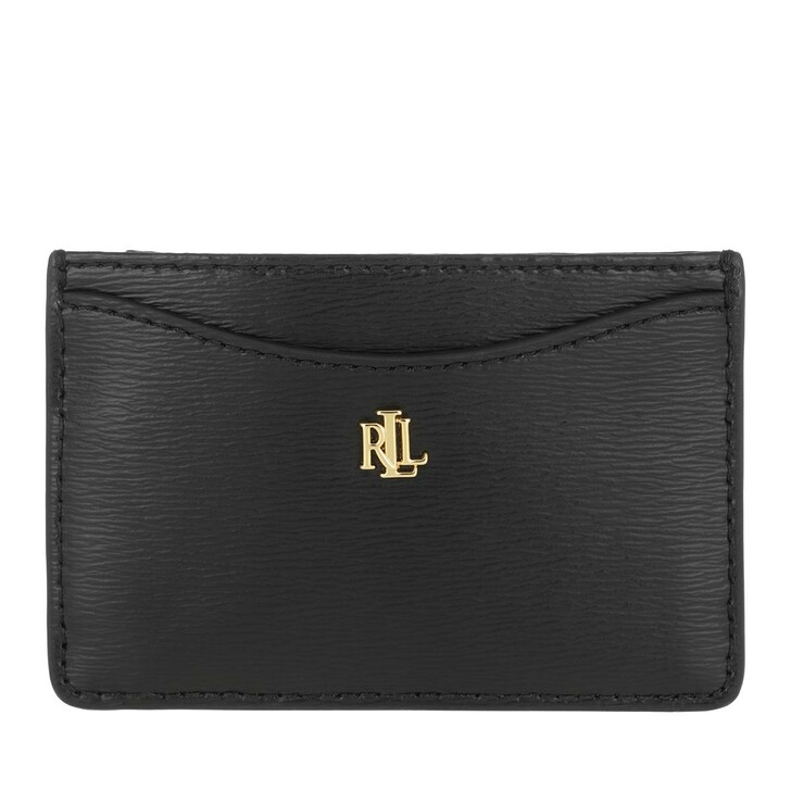 wallets, Lauren Ralph Lauren, Slim Card Cs Card Case Medium Black