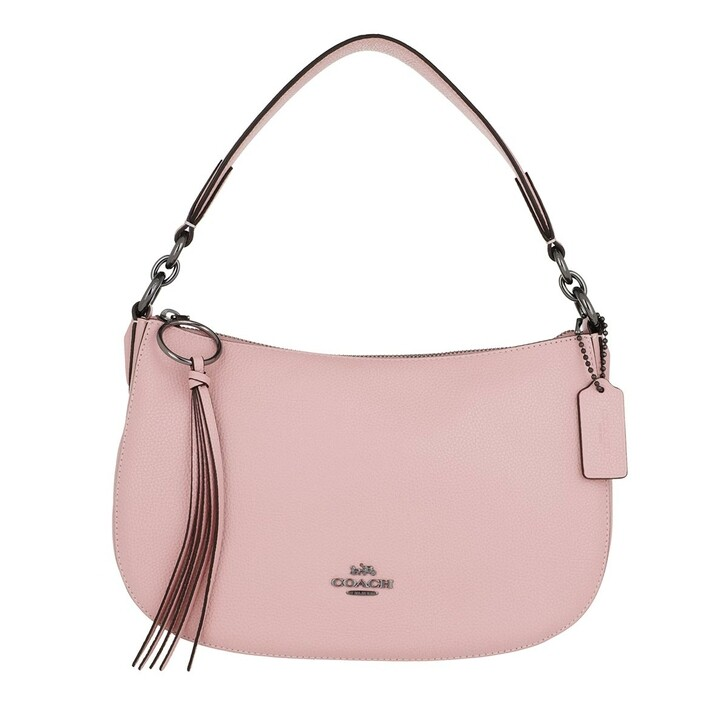 bags, Coach, Polished Pebble Leather Sutton Crossbody Aurora