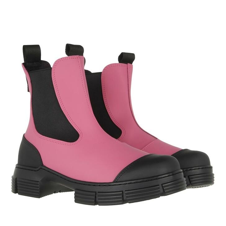 Schuh, GANNI, City Boot Shocking Pink