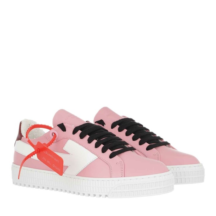 Schuh, Off-White, Arrow Sneakers Pink White