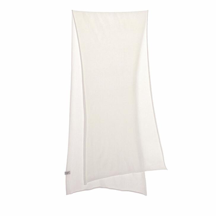 scarves, FTC Cashmere, Scarf Pristine White