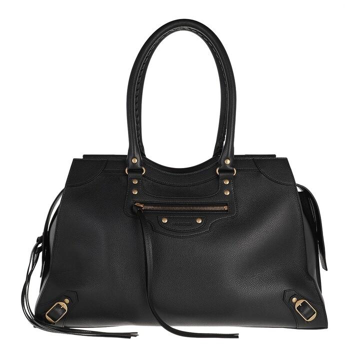 bags, Balenciaga, Neo Classic Large City Bag Leather Black