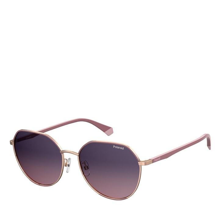 Sonnenbrille, Polaroid, PLD 4106/G/S BURGUNDY COPPER GOLD