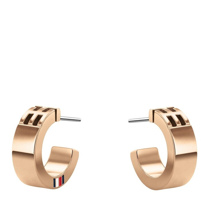 Ohrring, Tommy Hilfiger, Casual Core Earring Roségold