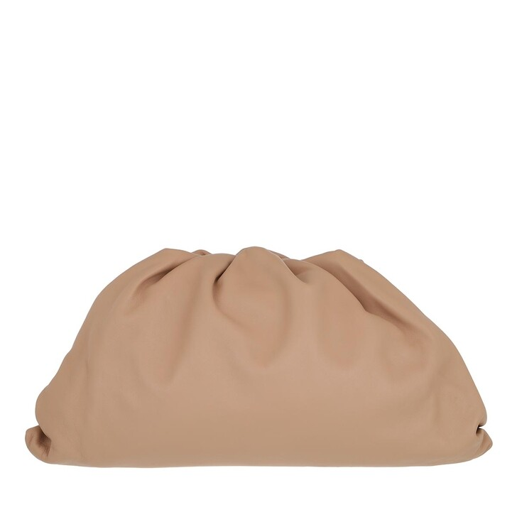 Handtasche, Bottega Veneta, Pouch Bag Leather Rose