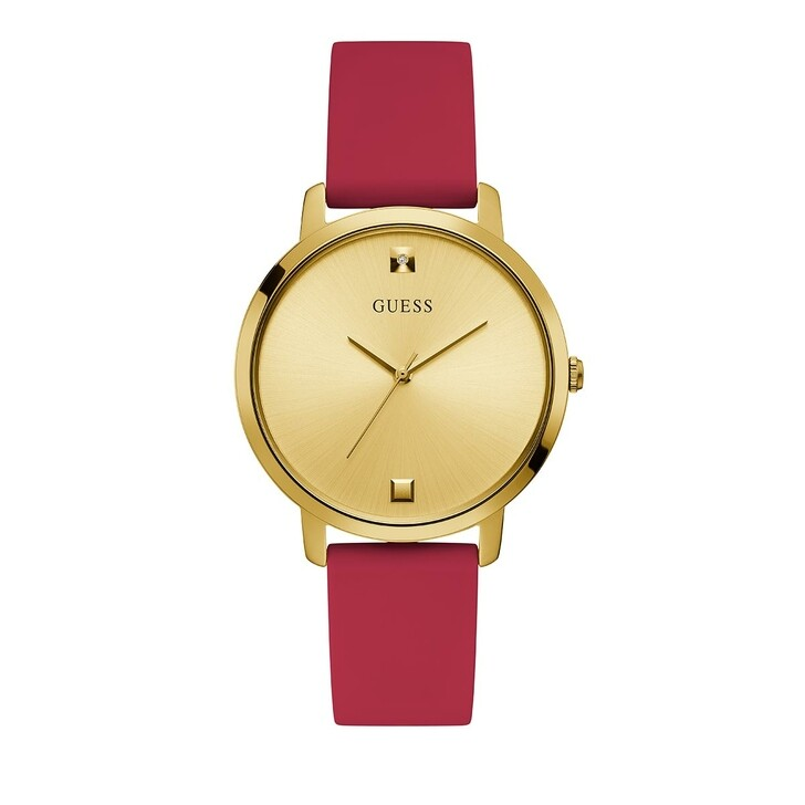 Uhr, Guess, Ladies Dress Red