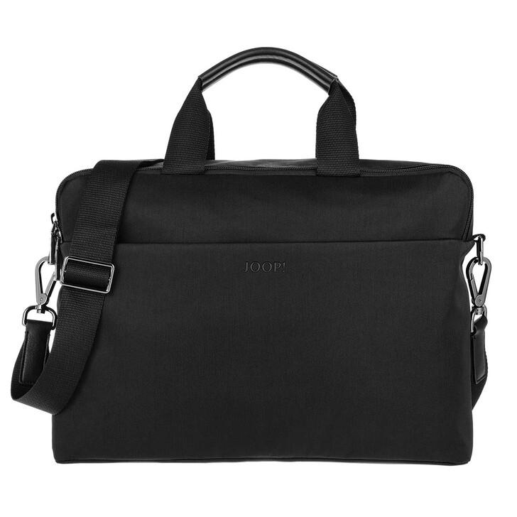 Handtasche, JOOP!, Marconi Pandion Briefbag Black