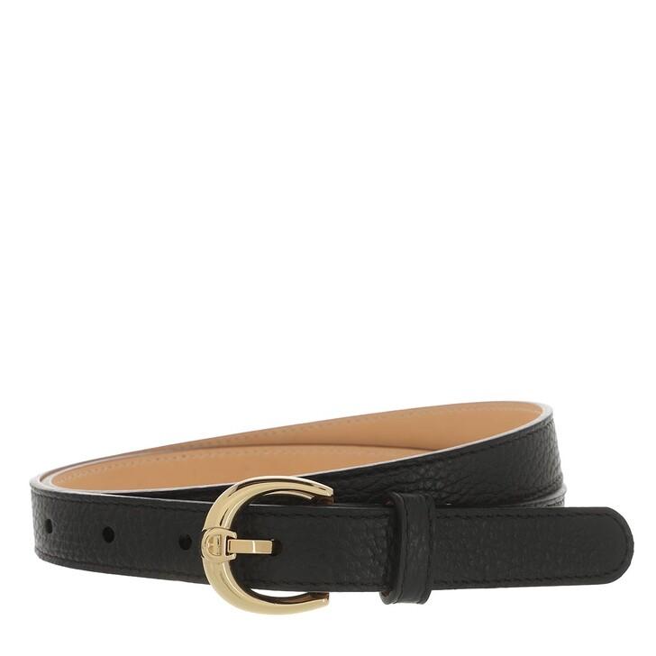 belts, AIGNER, Fashion Belt 2 cm Black