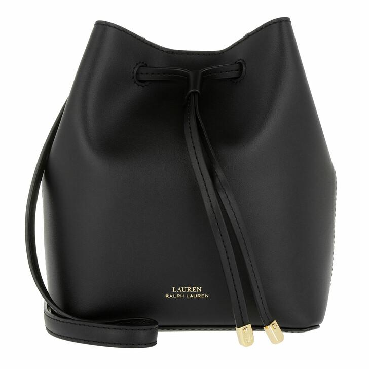 bags, Lauren Ralph Lauren, Debby Ii Drawstring Mini Black/Crimson