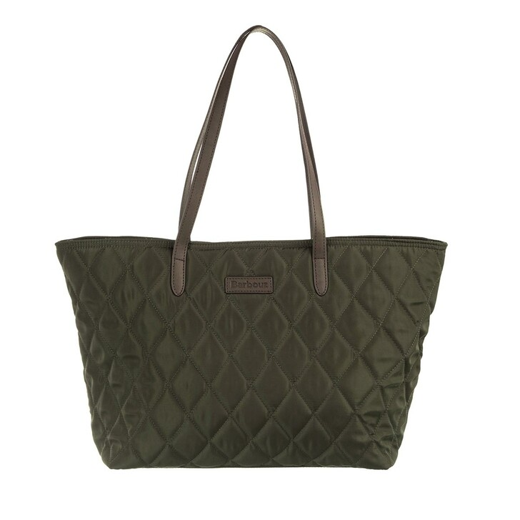 bags, Barbour, Witford Quilted Tote Olive