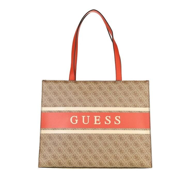 bags, Guess, Monique Tote Orange
