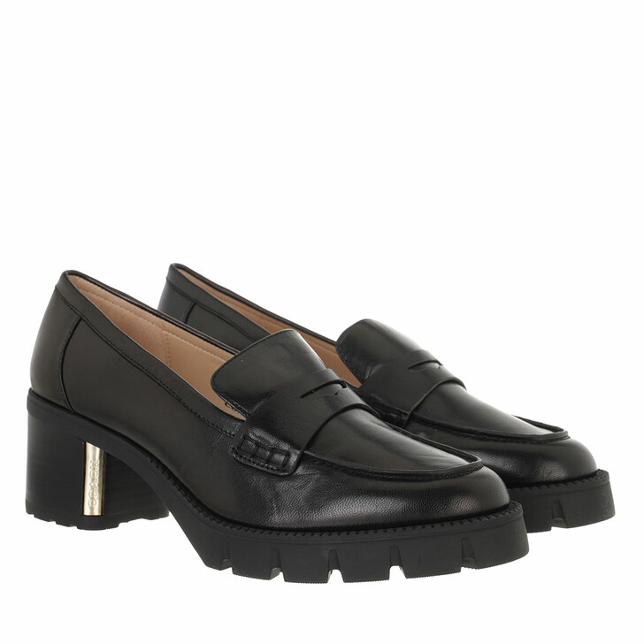 shoes, Coach, Cora Leather Loafer