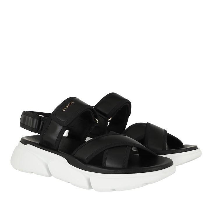 Schuh, Copenhagen, Sandals Material Mix Black