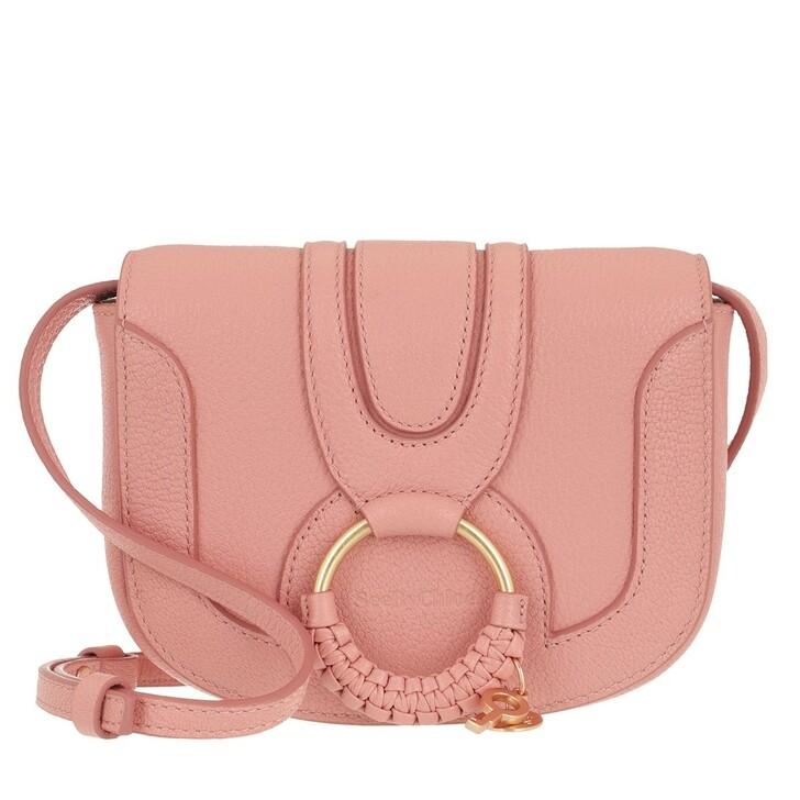 bags, See By Chloé, Hana Mini Crossbody Bag Fallow Pink
