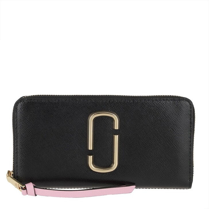 wallets, Marc Jacobs, Snapshot Standard Continental Wallet Leather New Black Multi