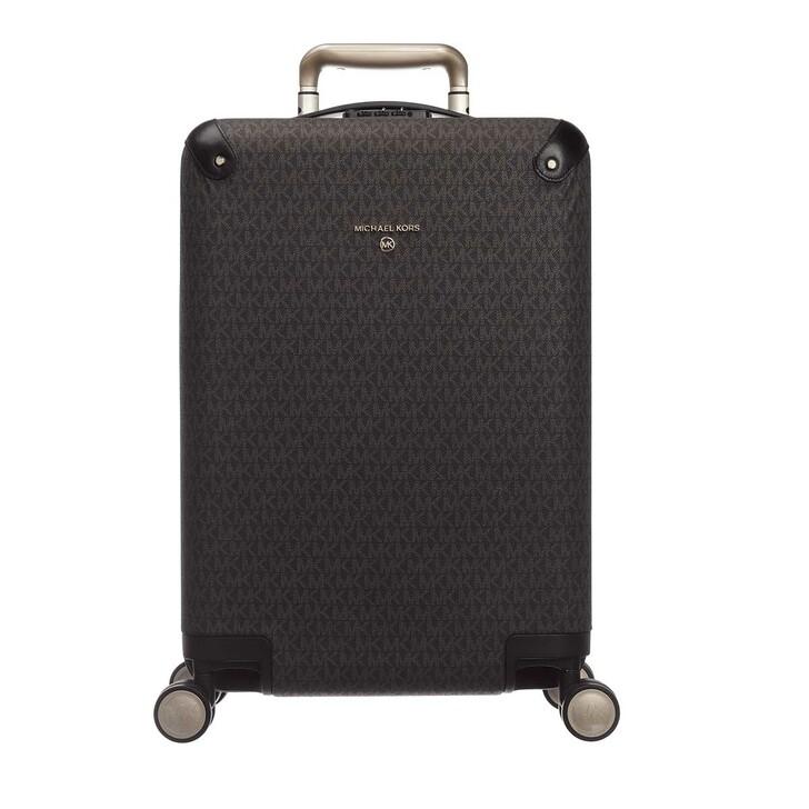 Reisetasche, MICHAEL Michael Kors, Small Hardcase Trolley Brown/Black