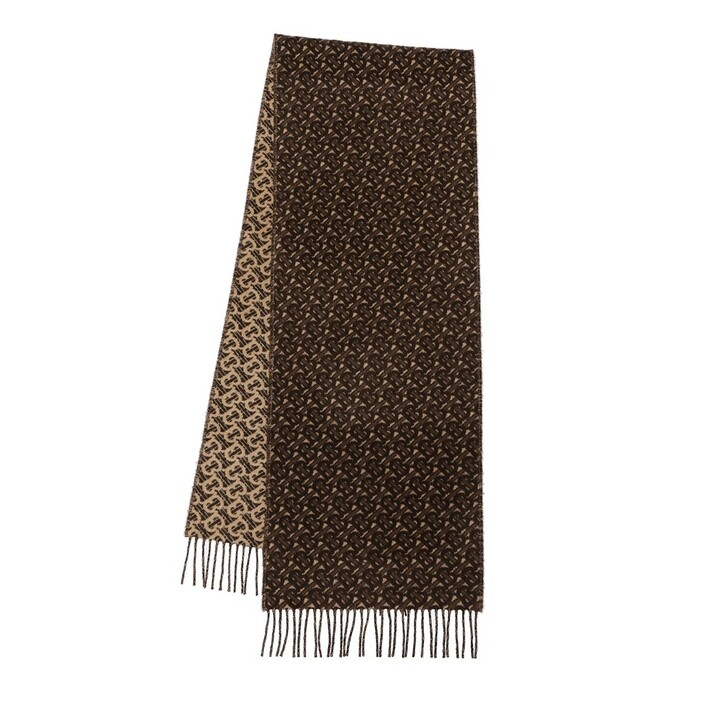 scarves, Burberry, Scarf Cashmere Bridle Brown
