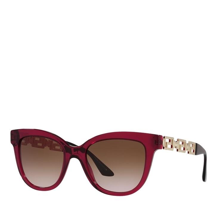 sunglasses, Versace, 0VE4394 BORDEAUX TRANSPARENT