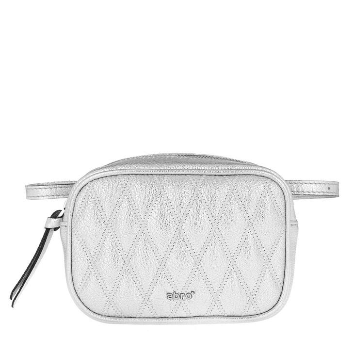 Handtasche, Abro, Romby Wallet Silver