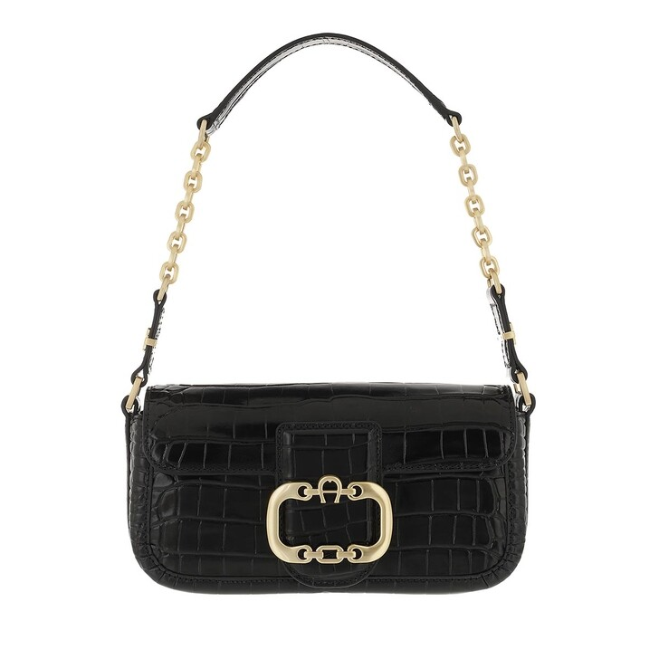 bags, AIGNER, Celia Mini Bag Black
