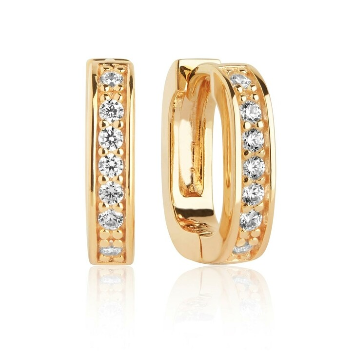 Ohrring, Sif Jakobs Jewellery, Matera Piccolo Earrings Gold