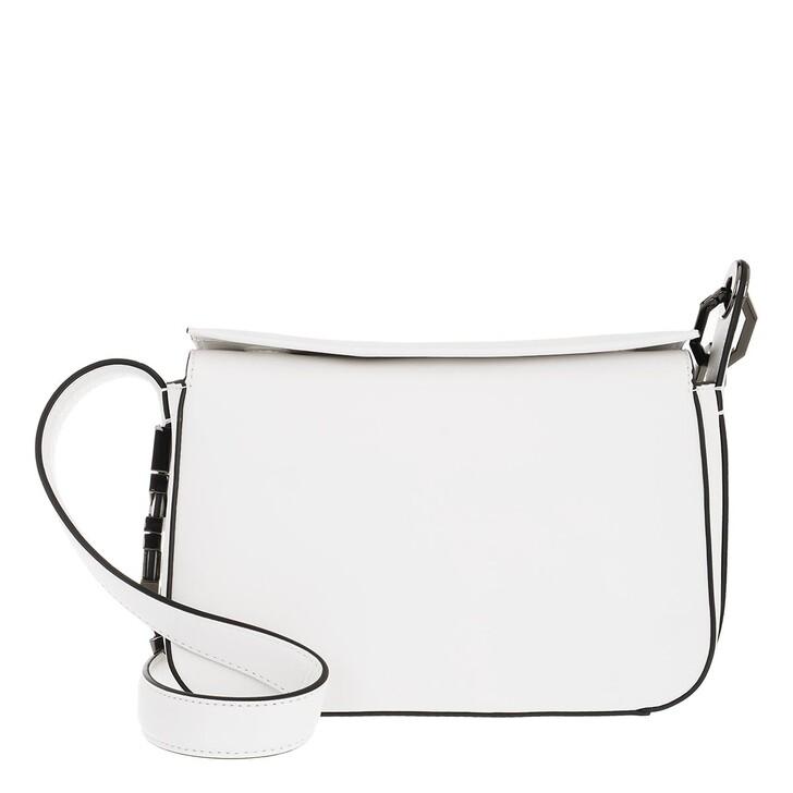 bags, Karl Lagerfeld, Letters Shoulderbag White