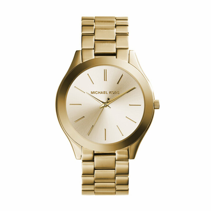 Uhr, Michael Kors, MK3179 Slim Runway Watch* Gold